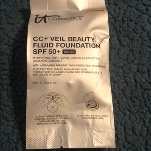 CC+ veil beauty fluid foundation spf 50+ REFILL